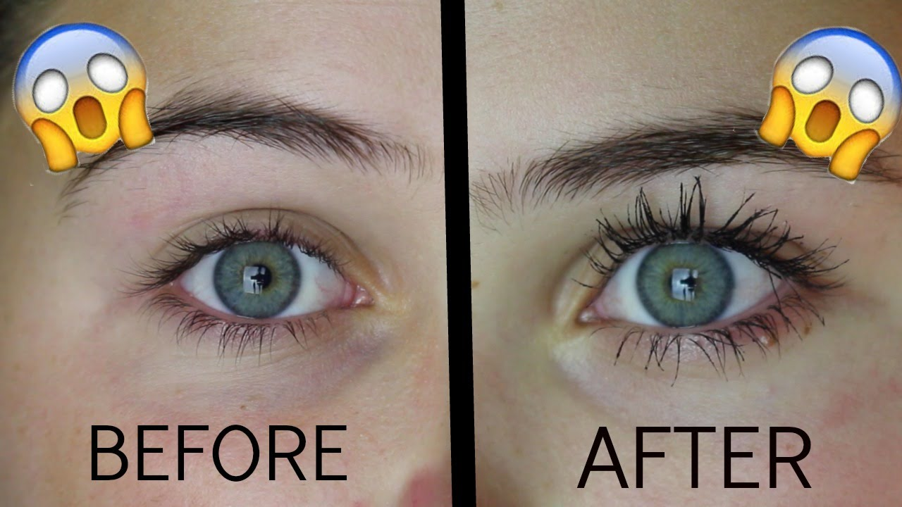 475de98bbb7 How To Grow Your Eyelashes In 1 Day! - YouTube