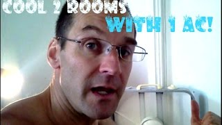 Cool 2 Rooms With 1 Ac! Box Fan Tips