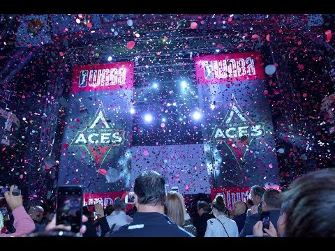 WNBA Las Vegas Aces  - Mandalay Bay Name Reveal Video TV Mix