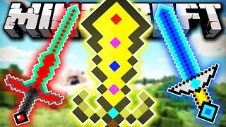AS 3 ESPADAS MAIS FORTES DO MINECRAFT!