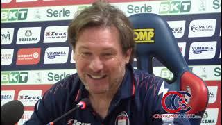 Conferenza stampa di Stroppa prima Verona Crotone