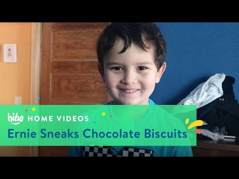 Ernie Sneaks Chocolate Biscuits | Home Videos | HiHo Kids