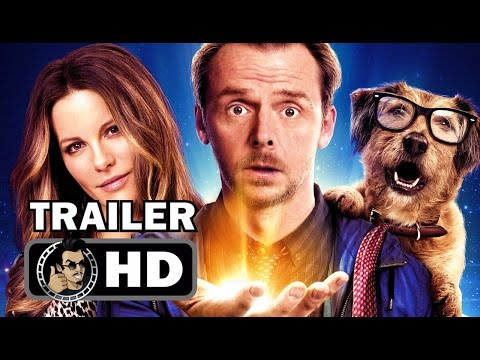 ABSOLUTELY ANYTHING   2017 Simon Pegg, Robin Williams SciFi Comedy Movie HD