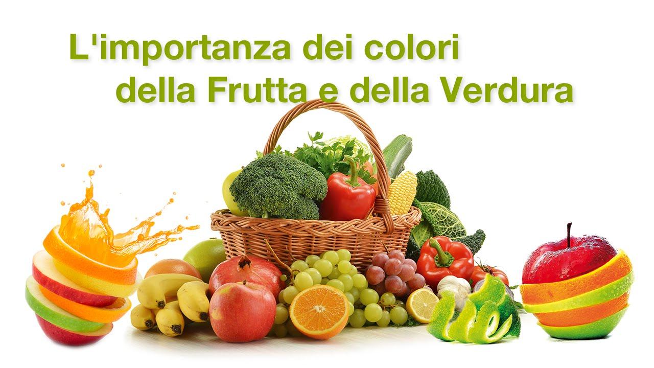 Top L'importanza dei colori della Frutta e della Verdura - YouTube JP44