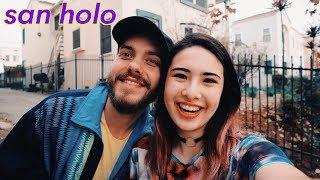 SAN HOLO Interview- love, music struggles, bitbird, monstercat, stress