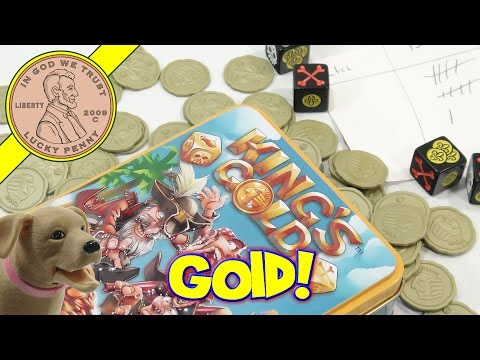 King's Gold Game, Pirates Set Sail For Plunder!