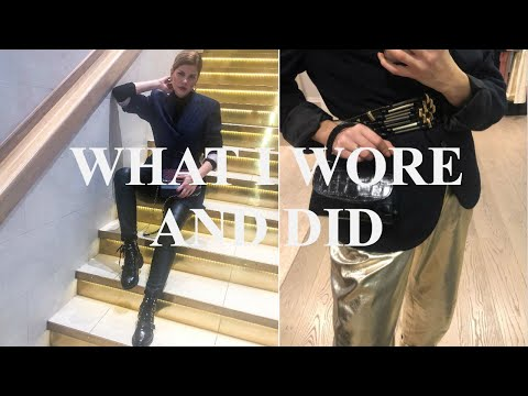 WHAT I WORE AND DID/LONDON/EVA MCMAHON