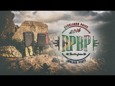 Rocklands Privé Boulder Party  [Trailer Video]
