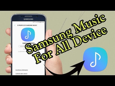 Samsung Music Player Fo All Device (No Root)