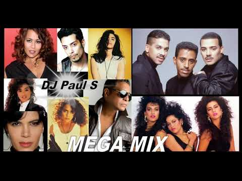 Freestyle Mega Mix - (DJ Paul S) - Judy Torres / TKA / Sa-Fire / Cheree