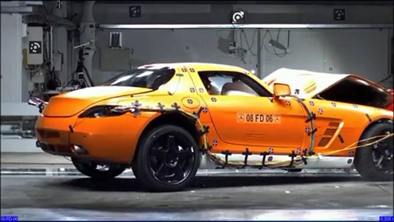 Supercar Crash Test Hd Youtube