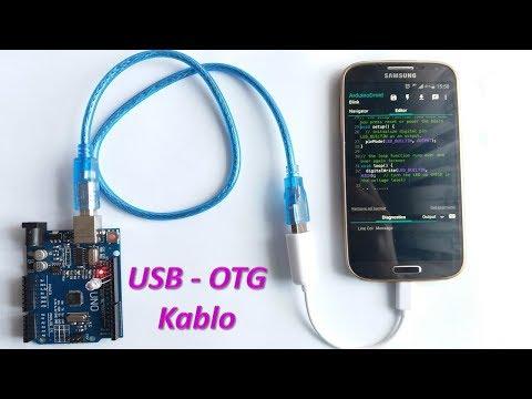 Android Telefon Ile Arduino Programlama Nasıl Yapılır? (ArduinoDroid Ve OTG Kablo Kullanımı)