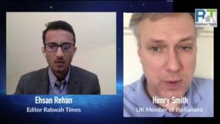 Rabwah Times Live with British MP Henry Smith