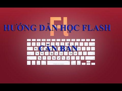 Hướng dẫn học Adobe flash căn bản – Bài 1-   Motion tween