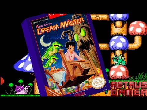 Little Nemo The Dream Master NES Gander en Retrus Gamer.