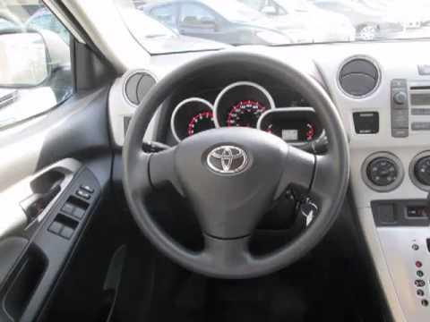 Toyota On Front 2010 Toyota Matrix Base W Rear Spoiler