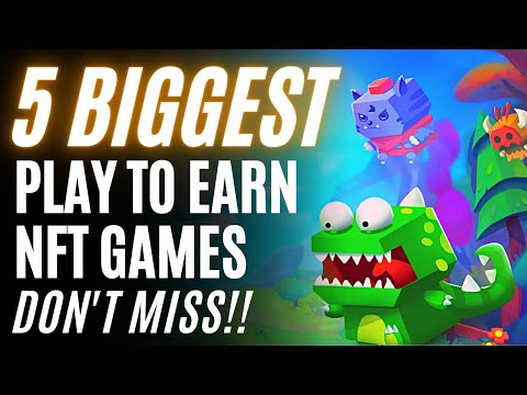 Top 5 Crypto NFT Games October 2021
