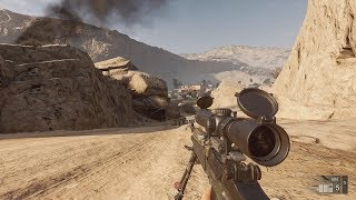 Amazing Sniper Gameplay in Online FPS Game on PC Insurgency Sandstorm