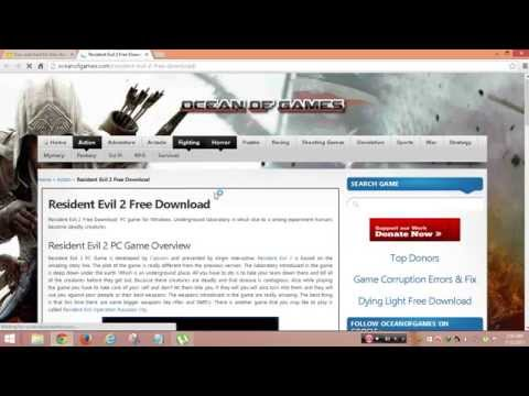 how to download and install resident evil 2 PC