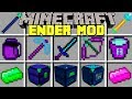 Minecraft ENDER MOD l NEW ENDER DIMENSION AND DRAGONS! l Modded Mini-Game
