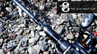 no 8 tackle blackout rod review