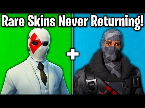 5 SKINS NEVER RETURNING In FORTNITE Battle Royale! (Fortnite Skins Not Coming Back)
