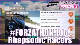 Forza Horizon 3 #FORZATHON 106: Rhapsodic Racers!