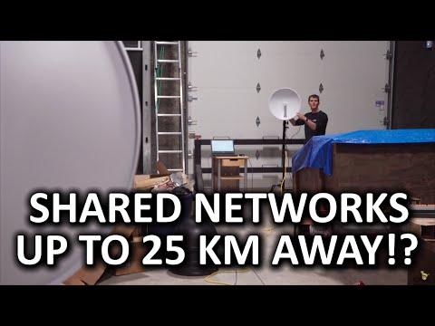 HOLY $H!T - Long Distance Wi-Fi (Up to 25 KILOMETER range!?)