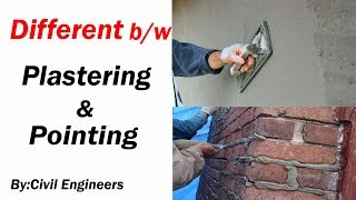Different Between Plastering and Pointing thumbnail