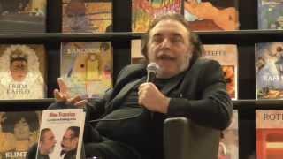 Nino Frassica presenta la sua autobiografia alla Feltrinelli di via Appia Nuova di Roma.