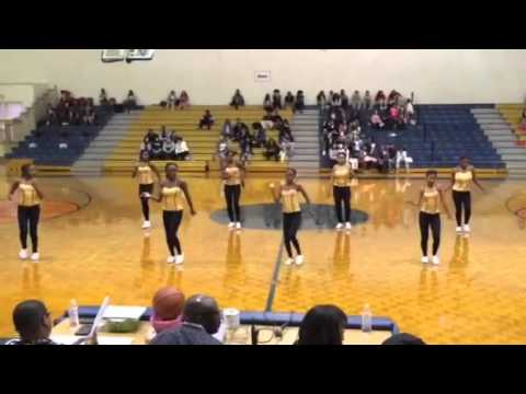 Kendrick Middle School Vanity Dance Team Mrs Benefield Tribute