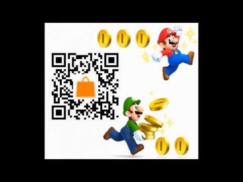 New Super Mario Bros 2 Nintendo 3ds Gameplay Trailer Qr Code