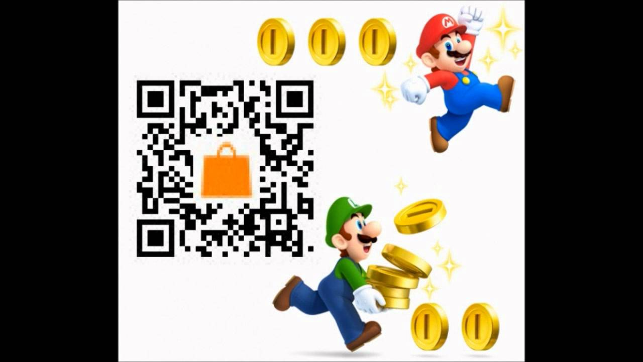 New super mario bros 2 nintendo 3ds gameplay trailer qr code e3