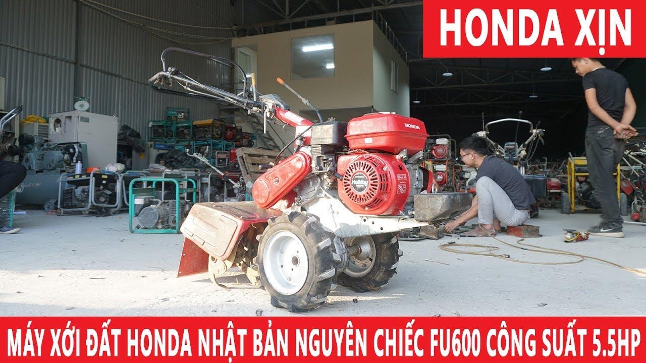 Máy Xới Đất Honda XỊN Nhật Bản FU600 Nhập Khẩu Nguyên Chiếc Cực Đẹp