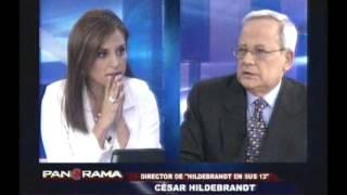 César Hildebrandt opina sobre la actualidad nacional en Panorama