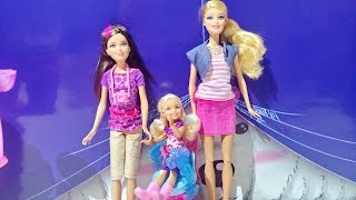 Barbie Dolls Collection - Barbie The Pearl Princess With Sisters Safari Fun Skipper And Chelsea Doll