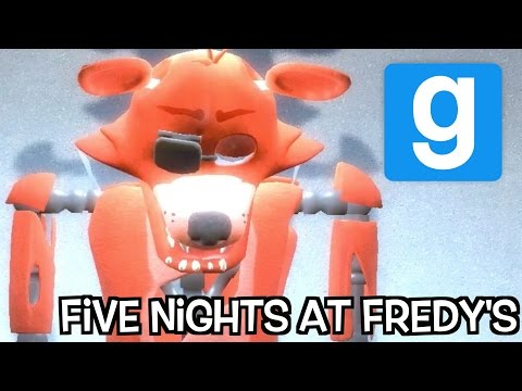 FOXY WANTS OUR BOOTIES!!! Five Nights At Freddys 2 Garrys Mod Map!