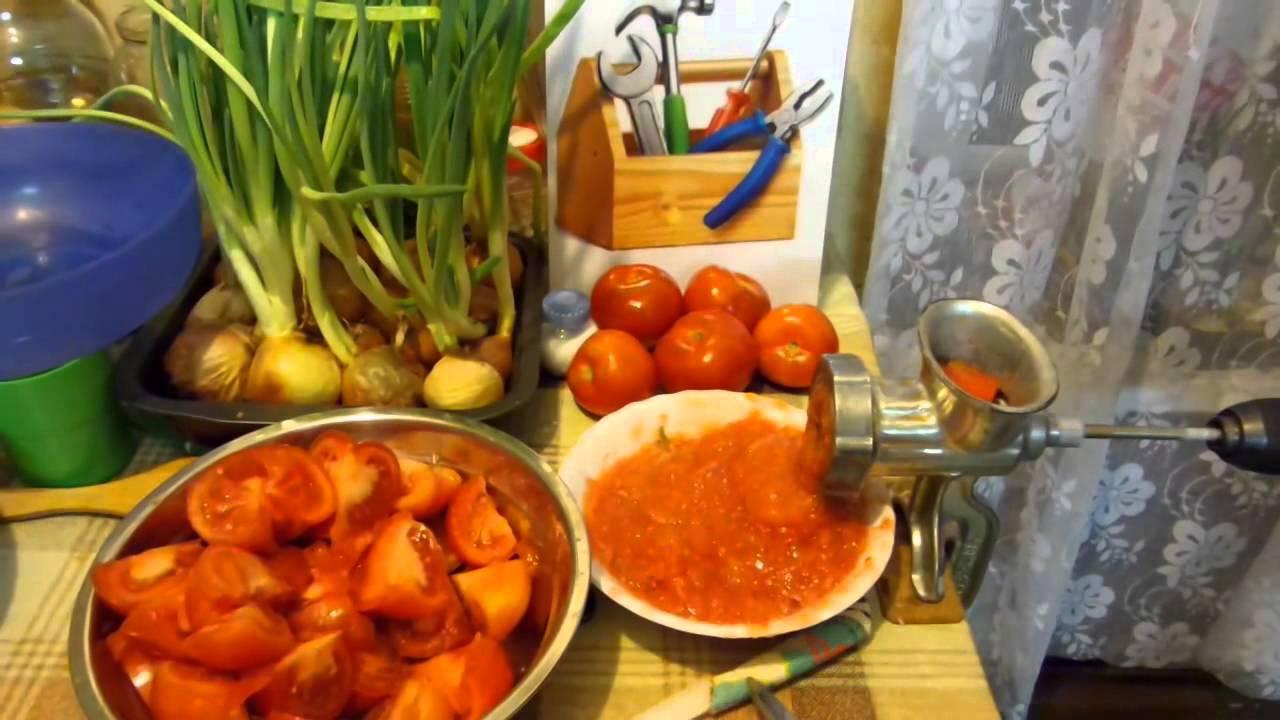 Как самому сделать томатный сок из помидор 71