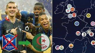 UNE PÉPITE FRANCAISE CHOSIT L'ALGERIE AU LIEU DES BLEUS ! / L'OM EXCLU DE LA SUPERLIGA EUROPEA #725