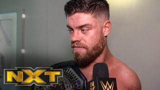 Jordan Devlin is ready for TakeOver: Dublin: NXT Exclusive, Feb. 19, 2020