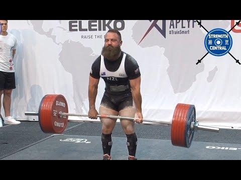 Brett Gibbs - 2nd Place 83 kg - IPF Worlds 2019 - 820 kg Total