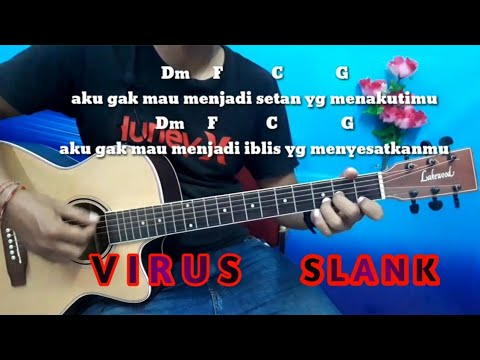 Kunci Gitar Virus Slank - Tutorial Gitar Untuk Pemula By Darmawan Gitar