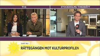 """I dag döms kulturprofilen: """"Mycket pekar på att han kommer att bli fälld"""" - Nyhetsmorgon (TV4)"""
