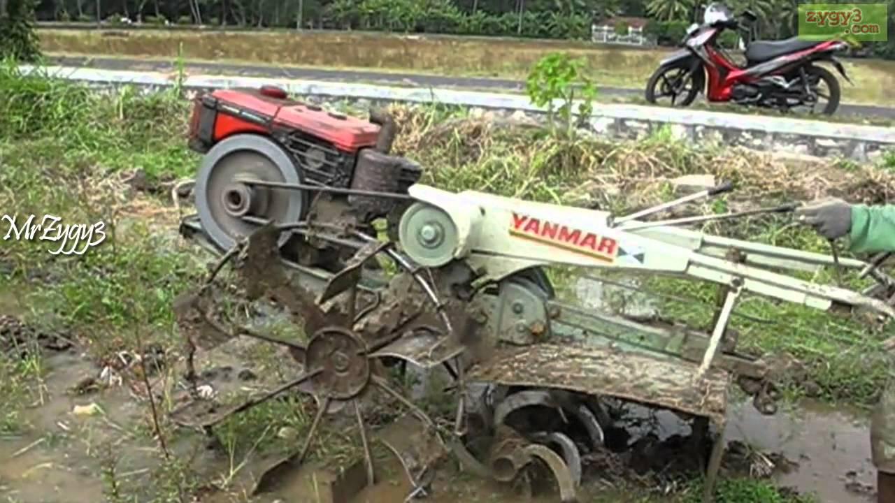 Yanmar Tractor 2 Wheel : Yanmar wheel rotary tractor youtube
