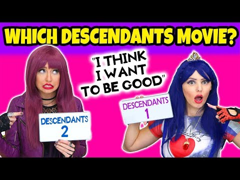 Which Descendants Movie Was This In? Play the Movie Quote Challenge. Totally TV.