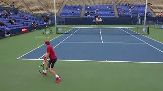 02 27 2018 Holt (USC) Vs Redlicki (UCLA) men's tennis #1 singles