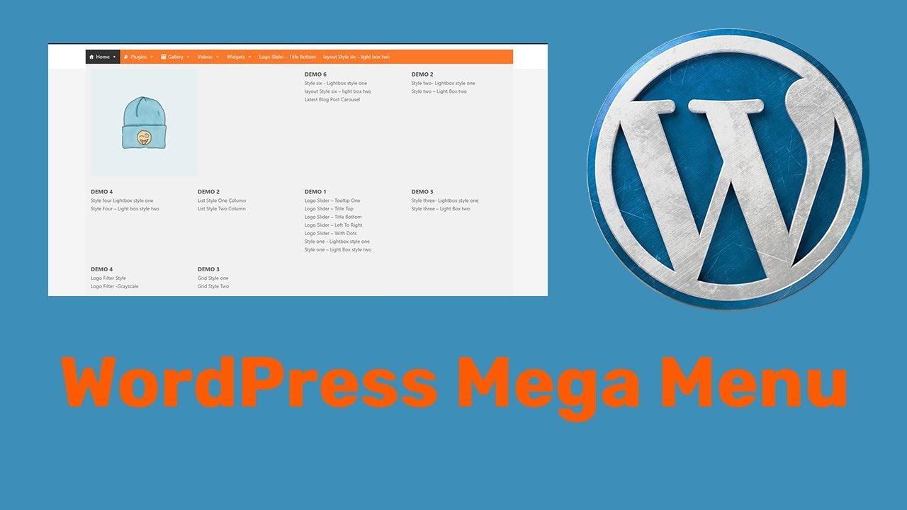 WordPress Mega Menu Plugin - Max Mega Menu Tutorial | Best WordPress Plugins