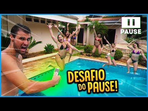 5 VS 5: DESAFIO DO PAUSE QUE VOCÊ NUNCA VIU!! [ REZENDE EVIL ]