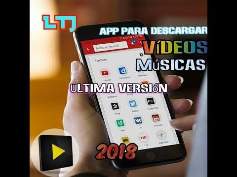 COMO DESCARGAR VÍDEOS DE FACEBOOK Y YOUTUBE FACIL!! - (VIDEODER 2018) - LTJ