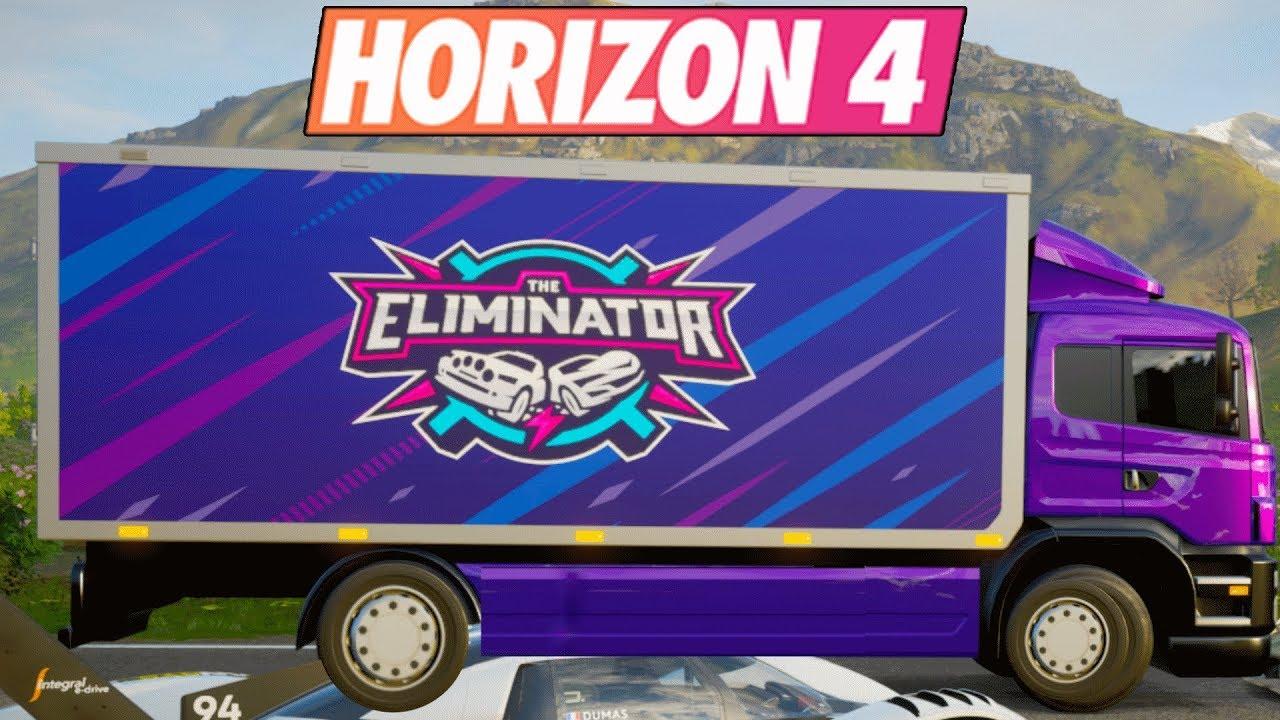 Forza Horizon 4 : Eliminator ?